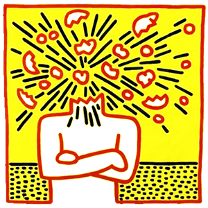 exploding-head-by-keith-haring1-300x300-300x300